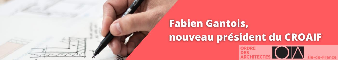 Fabien Gantois, nouveau président du CROAIF
